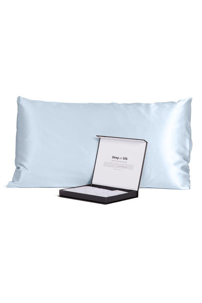 100% Pure Mulberry Silk Pillowcase with Gift Box- 30 Momme - Good Housekeeping Quality Tested - Fishers Finery