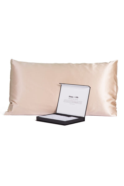 100% Pure Mulberry Silk Pillowcase with Gift Box- 30 Momme - Good Housekeeping Quality Tested