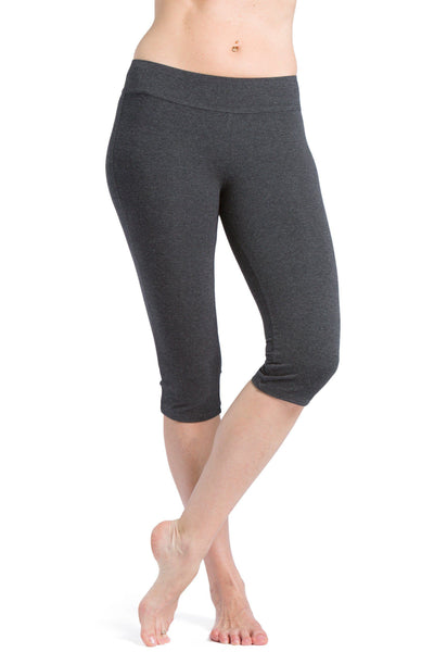 "Women's EcoFabric™ 16"" Yoga Workout Capri - Fishers Finery"