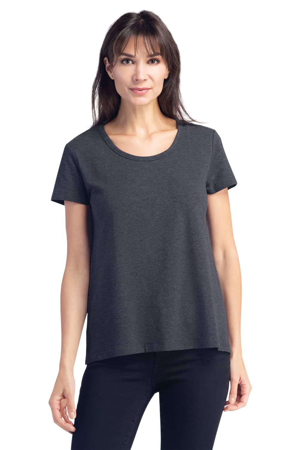 Fishers Finery Women's Relaxed EcoFabric™ Scoop Neck Tee