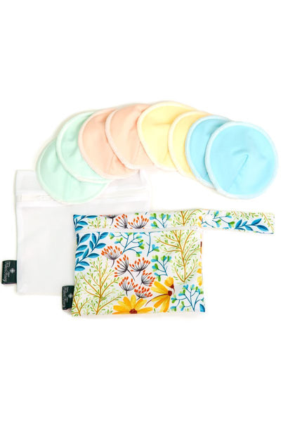 Reusable and Washable Nursing Breastfeeding Pad Set - Fishers Finery