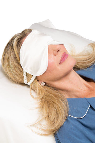 Silk Sleep Mask Therapeutic And Hypoallergenic Fisher