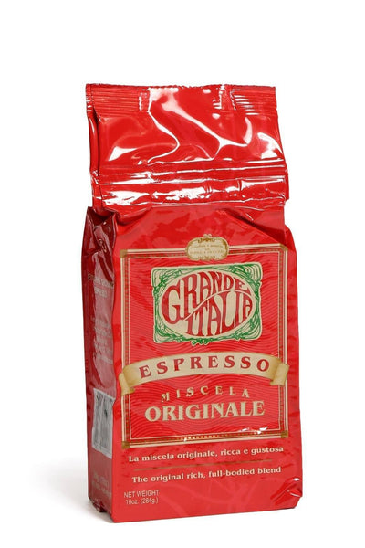Grande Italia: Originale Ground Espresso: 10 oz - Fishers Finery