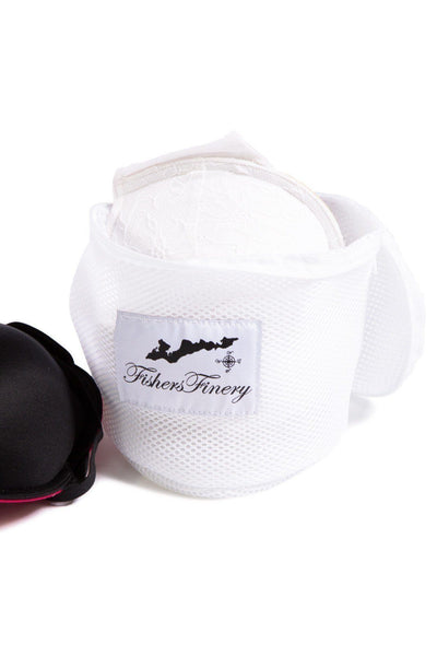 Mesh Lingerie Wash Bag Bra Size With Zipper Cover