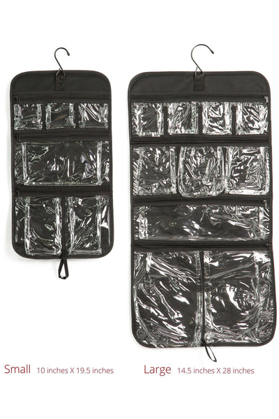 Expert Traveler Hanging Toiletry Bag - Designed By Travelers for Travelers  - Fishers Finery 92645b801d0bf