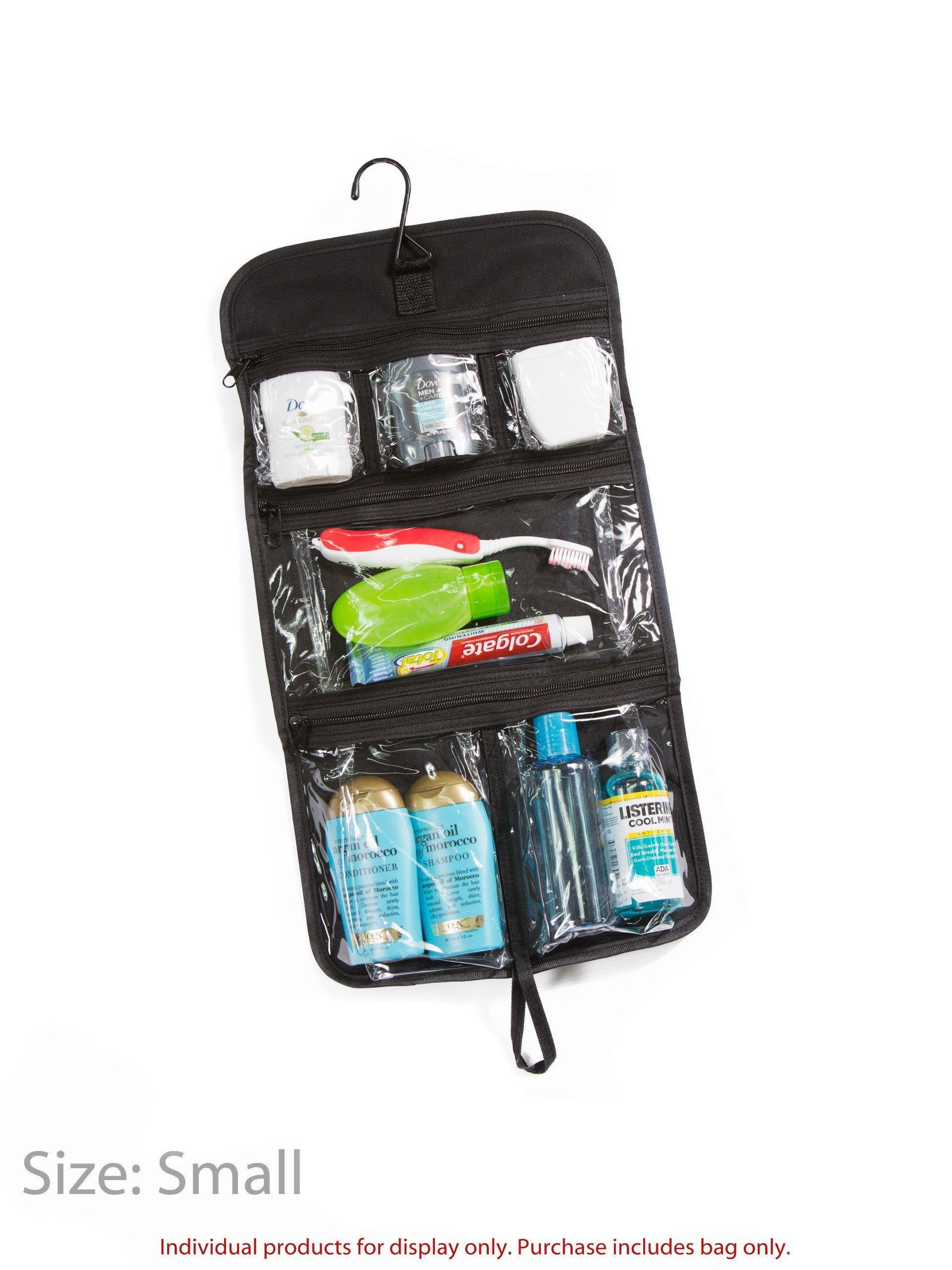 Expert Traveler Hanging Toiletry Bag - Designed By Travelers for Travelers  - Fishers Finery c09389681a892