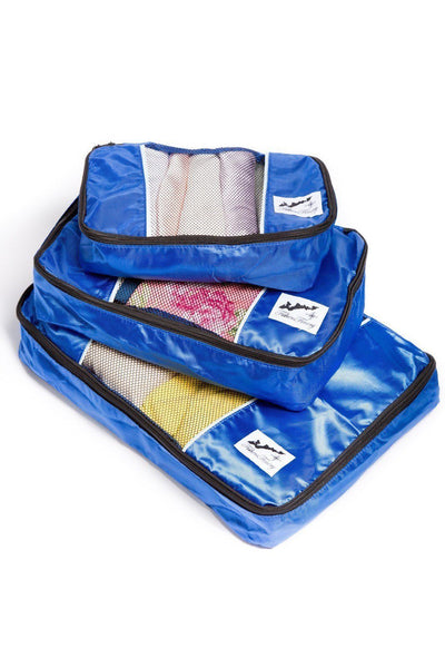 3 Piece Travel Organizing Cube Set - Fishers Finery