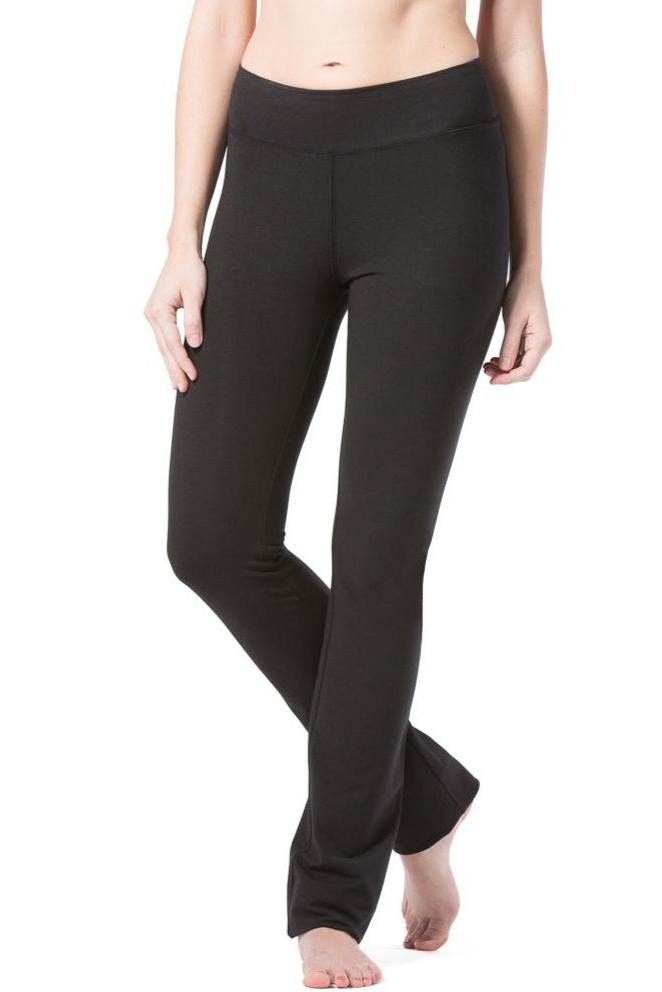 Fishers Finery Women's EcoFabric™ Straight Leg Yoga Pant with Back Pockets