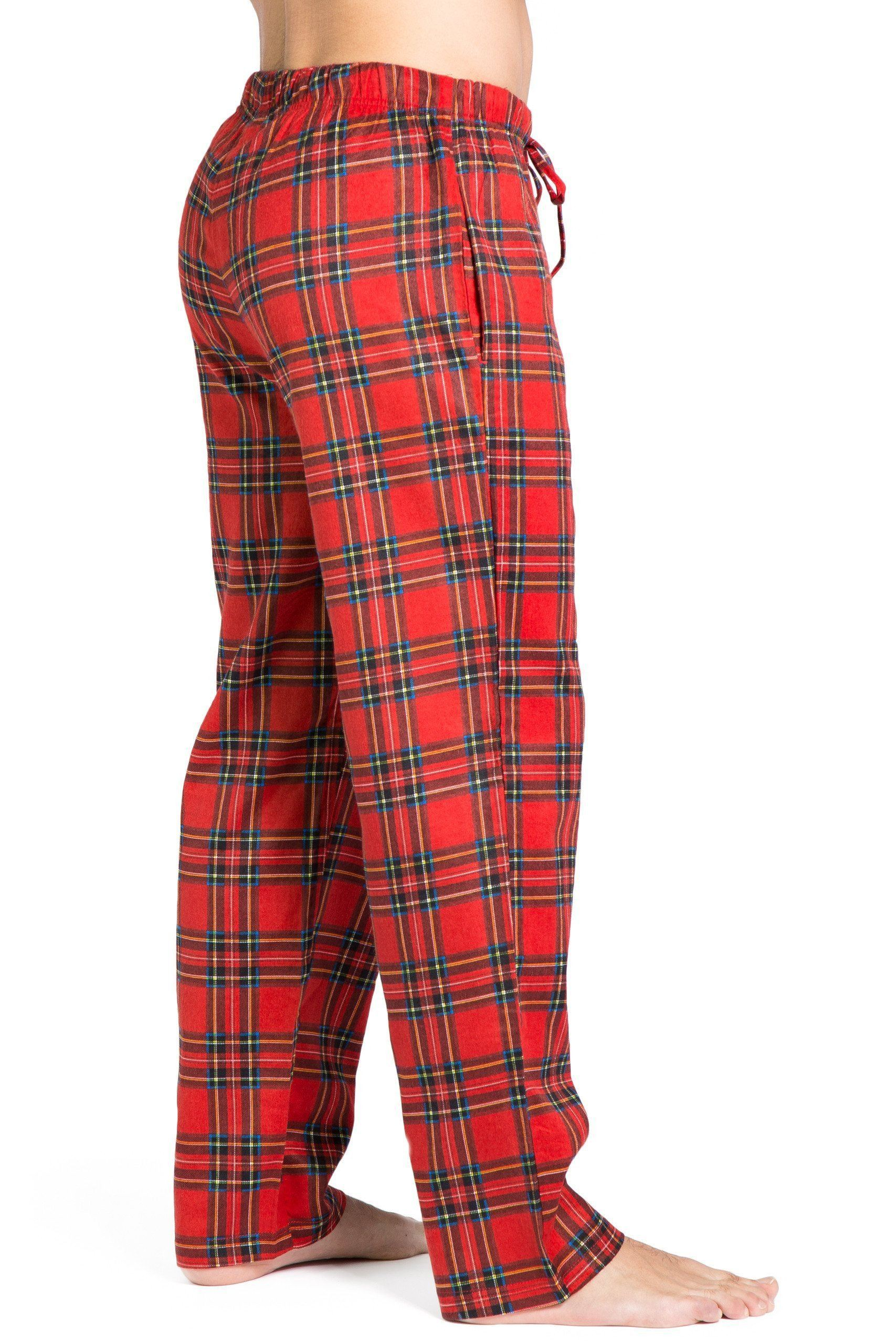 dae48aa0f0 Men s EcoFlannel™ Plaid Pajama Pants - Fishers Finery