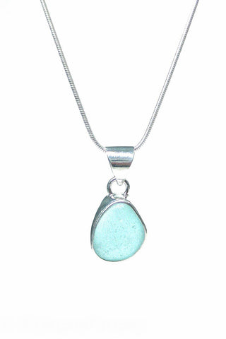 Womens>Accessories>Jewelry - Single Bezel Pendant