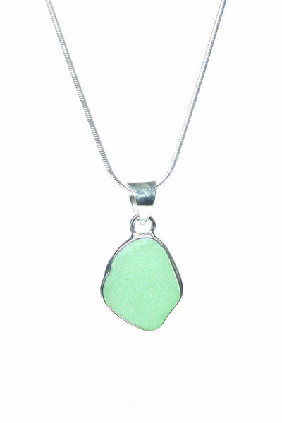 Single Bezel Pendant Necklace with Gift Box - Fishers Finery