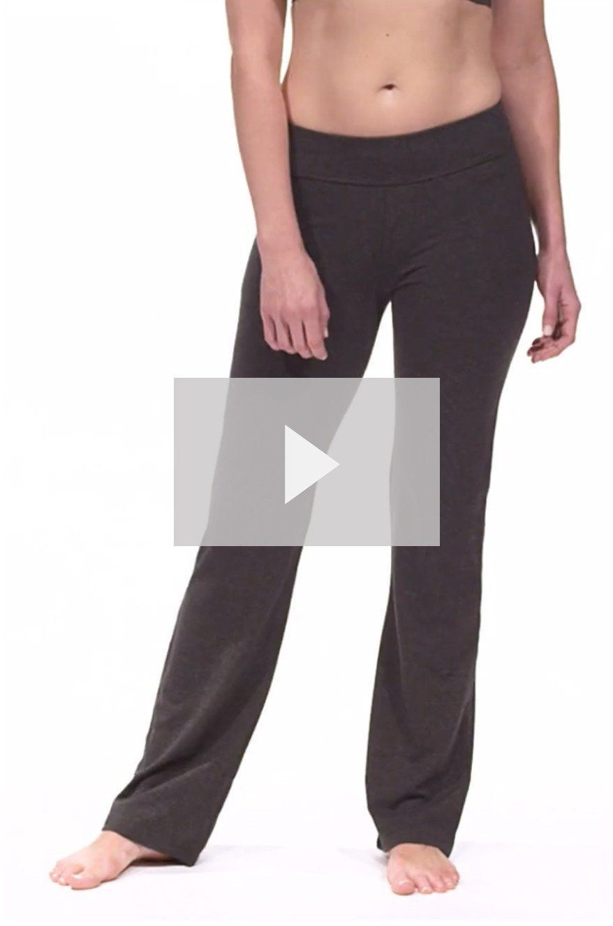 Yoga Pants | Women's Bootleg Yoga Pants with Pockets | Fishers Finery