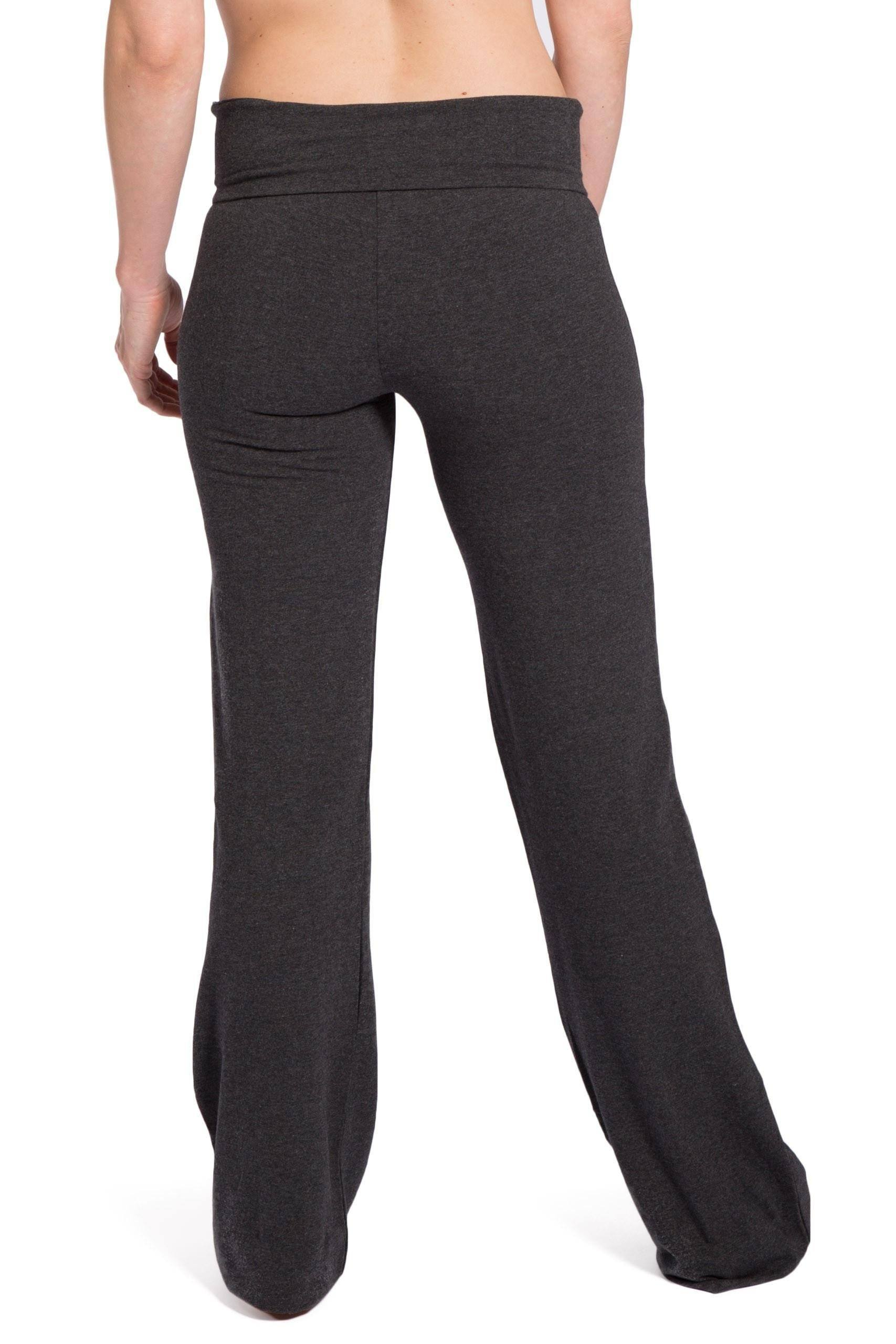 new high quality thoughts on new arrive Women's EcoFabric™ Boot Leg Yoga Pant with Fold Over Waistband