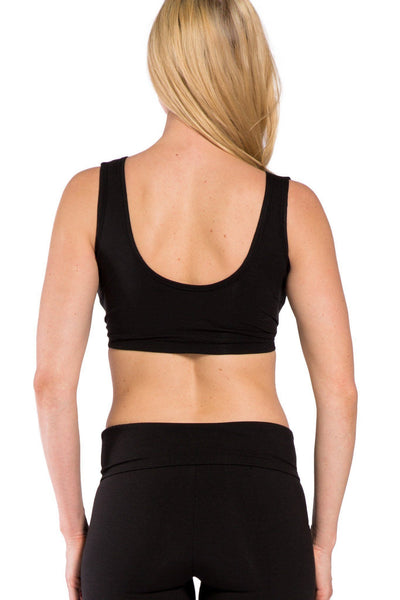 Womens>Casual>Top - Low Impact Ecofabric Sports Bra