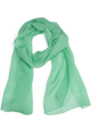 Womens>Cold Weather Accessories>Scarf - Fishers Finery 100% Italian Silk Chiffon Scarf
