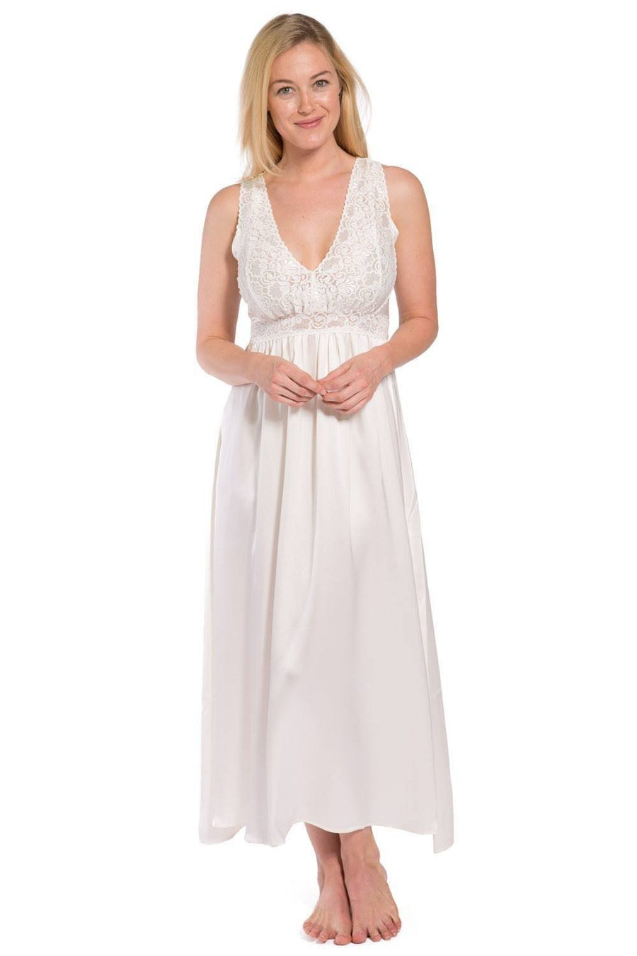 Womens Nightgowns & Chemises in Organic Cotton & Silk | Fishers Finery