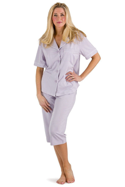 Women's EcoFabric™ Capri Pajama Set with Gift Box - Fishers Finery