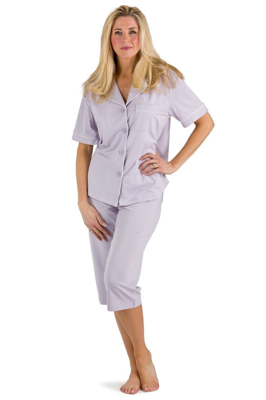 e63c6a41b1e0 Women s EcoFabric™ Capri Pajama Set with Gift Box - Fishers Finery