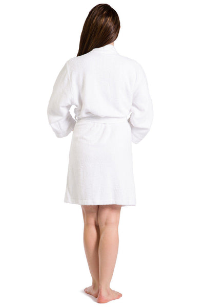 Women's Kimono Style Terry Cloth Bathrobe - Fishers Finery