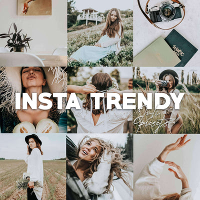 INSTA TRENDY Mobile Presets Pack - presetbank