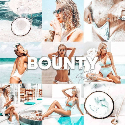 BOUNTY BEACH Mobile Presets Pack - presetbank