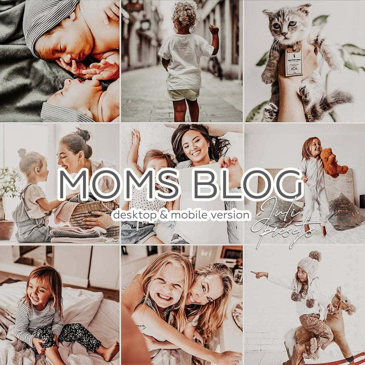 MOMS BLOG - 10 Desktop Lightroom Presets - presetbank