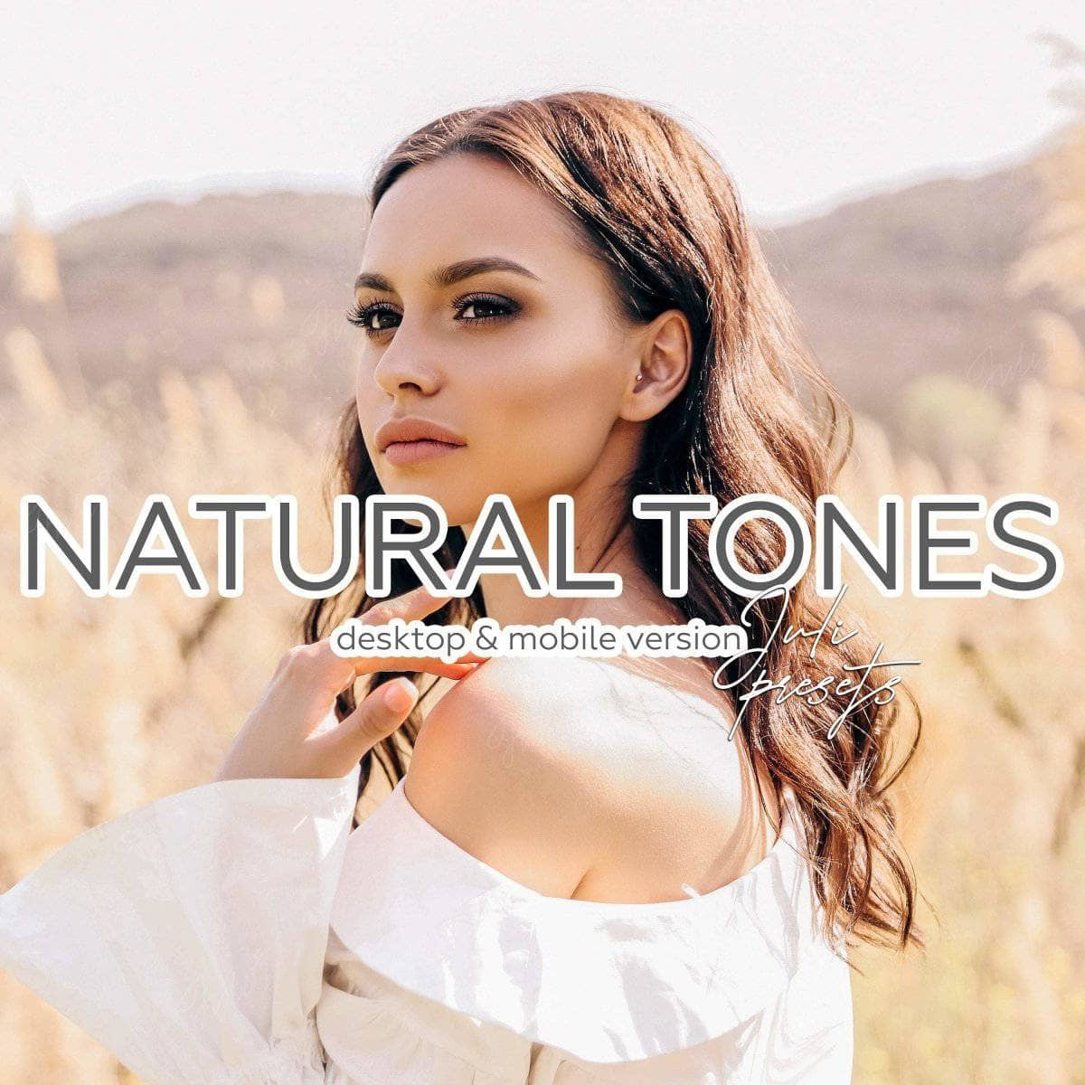 NATURAL TONES - 6 Desktop Lightroom Presets - presetbank