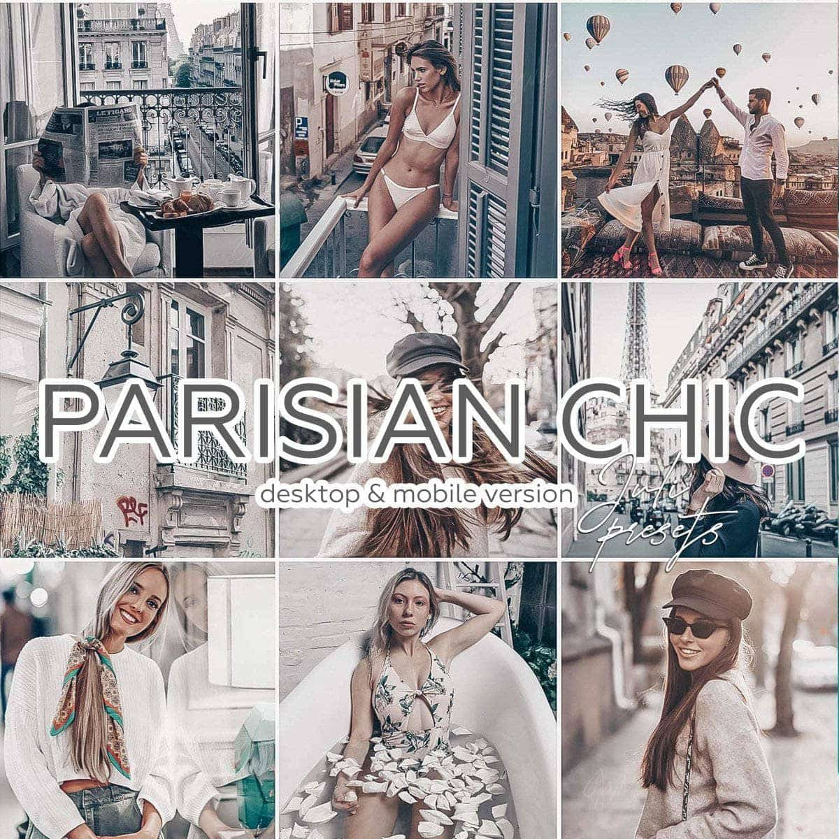 PARISIAN CHIC - Desktop Lightroom Presets - presetbank