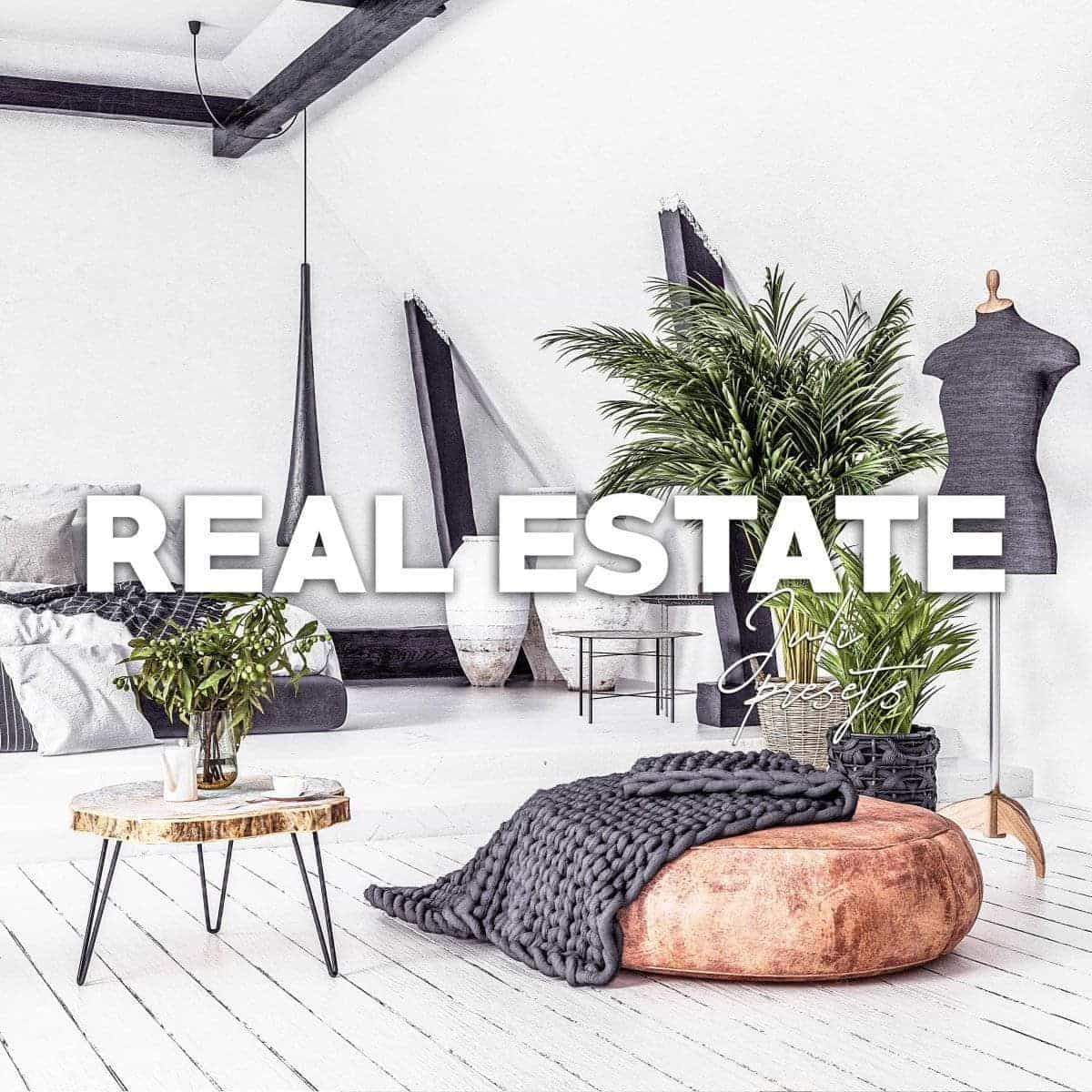 REAL ESTATE Mobile & Desktop Presets - presetbank
