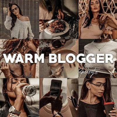 WARM BLOGGER Mobile Presets Pack - presetbank