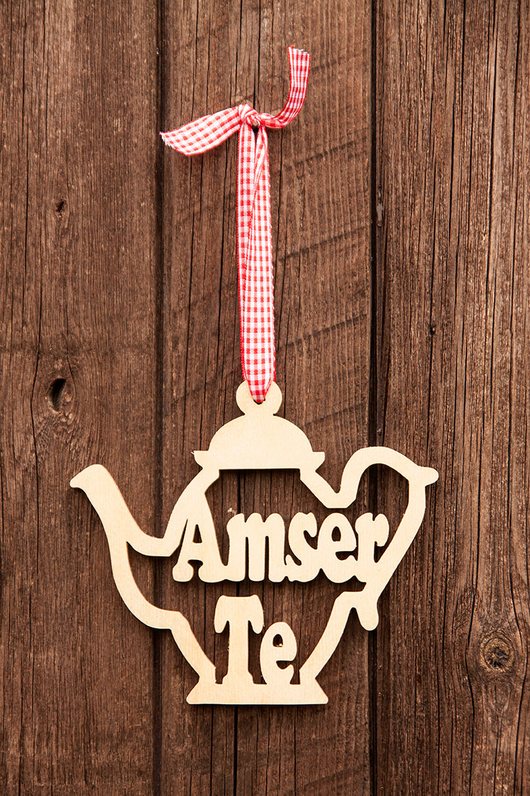 Amser te plaque (Hanging)