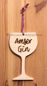 Amser Gin - Gin time plaque