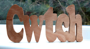 Cwtch word - Large