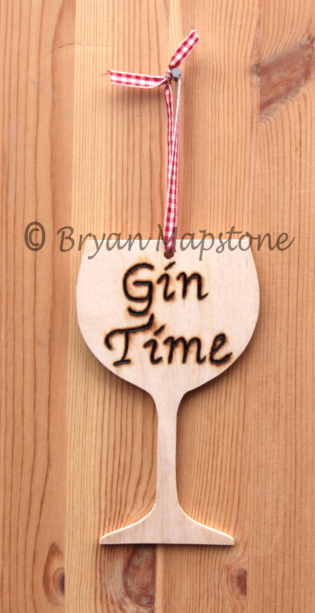 Gin Time Plaque