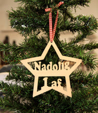 Load image into Gallery viewer, Nadolig cyntaf babies first christmas nadolig 1af