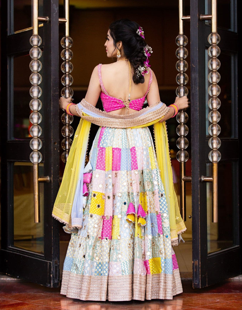 Manvi-Kapoor-Real-Bride-Rainbow-Lehenga-Ethnic-Indian-Womenswear
