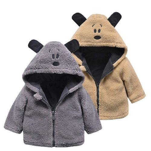 Baby Hooded Winter Jacket - Positive Bunch
