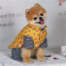 Load image into Gallery viewer, Warm Cotton Dog Vest - Positive Bunch