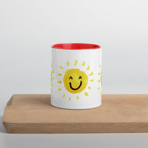 Sunshine Mug with Color Inside - Positive Bunch