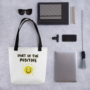 Part of the Positive Tote bag - Positive Bunch