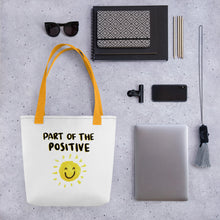 Load image into Gallery viewer, Part of the Positive Tote bag - Positive Bunch