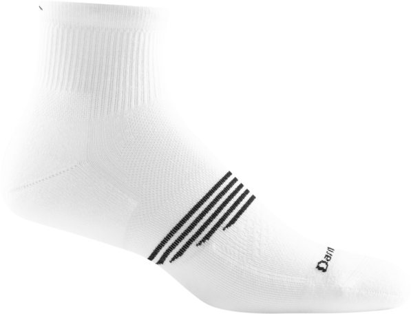 Element 1/4 Light Cushion Socks - White
