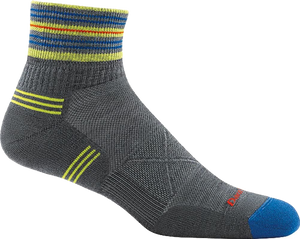 Vertex 1/4 Ultra-Light Cushion Socks - Gray