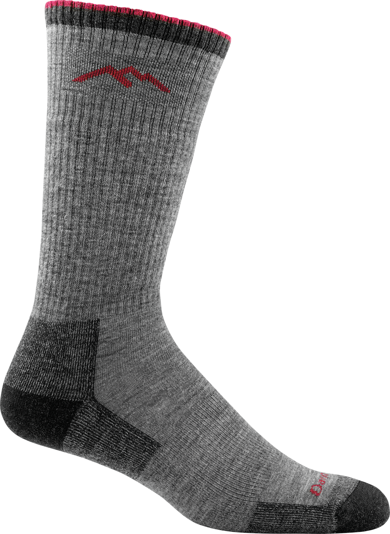 Hiker Cushion Boot Sock - Charcoal