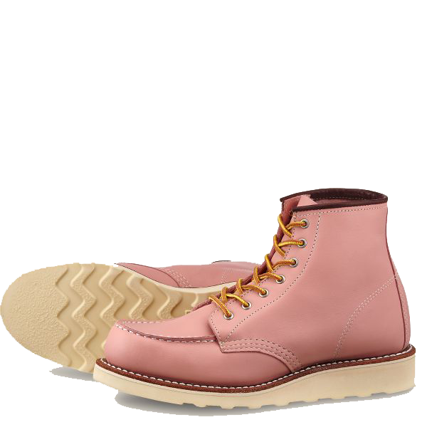 "6"" Moc Toe Boots - Rose Boundary"