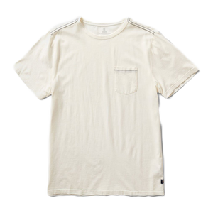 Well Worn Knit Pocket Tee - Off White