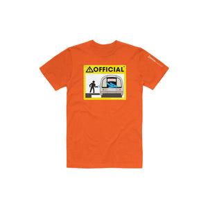 Official Subway Tee (Orange)