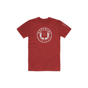 Spray Can Tee (Burgundy)