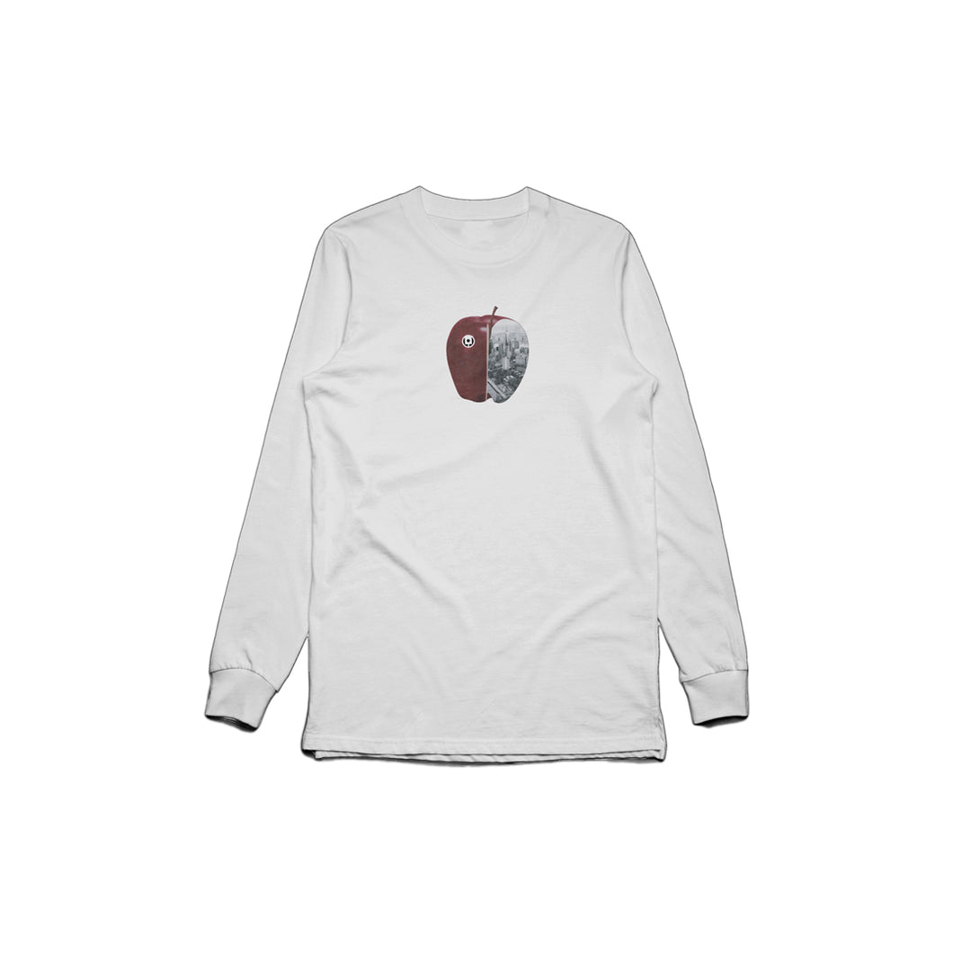 Apple Long Sleeve (White)