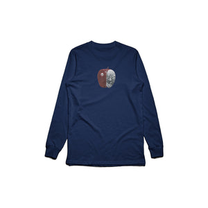 Apple Long Sleeve (Navy)